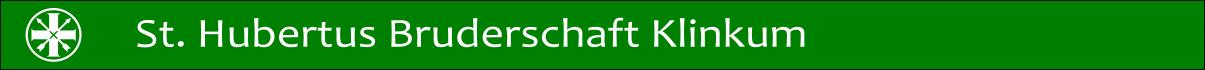 St. Hubertusbruderschaft Schützenbruderschaft Klinkum